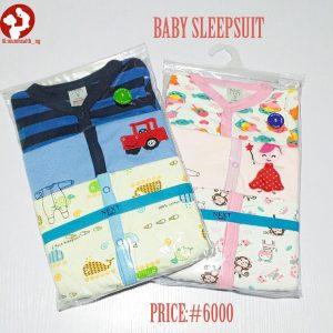 3 in 1 Baby Sleepsuit