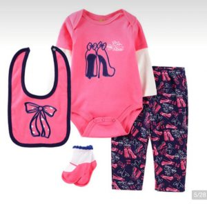 4 in 1 Baby Overall Set
